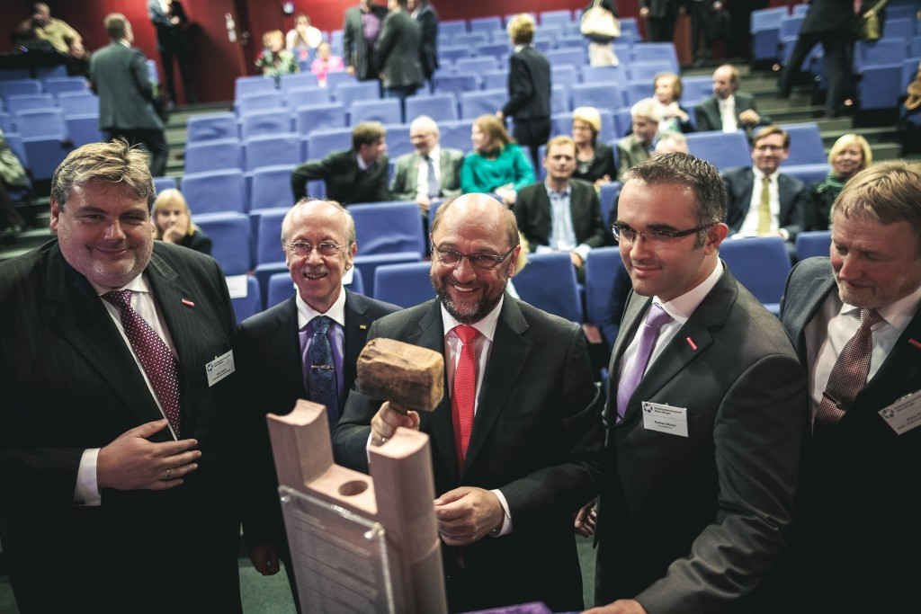 Martin Schulz erhält den HAMMER.Preis 2015